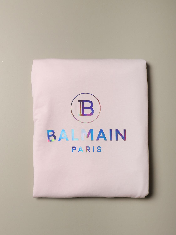 Manta Balmain: Manta niños Balmain rosa 2