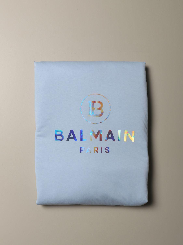 Blanket Balmain: Blanket kids Balmain sky blue 2