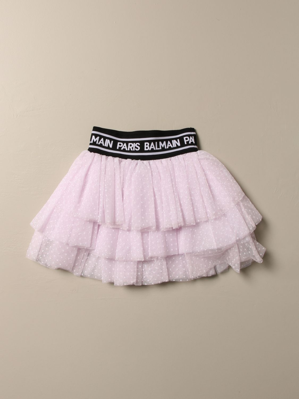 半身裙 Balmain: 半身裙 儿童 Balmain 粉色 1