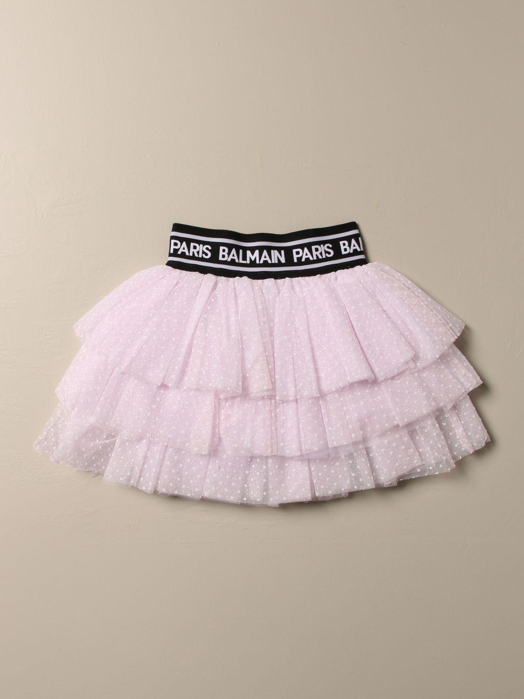 半身裙 Balmain: 半身裙 儿童 Balmain 粉色 2