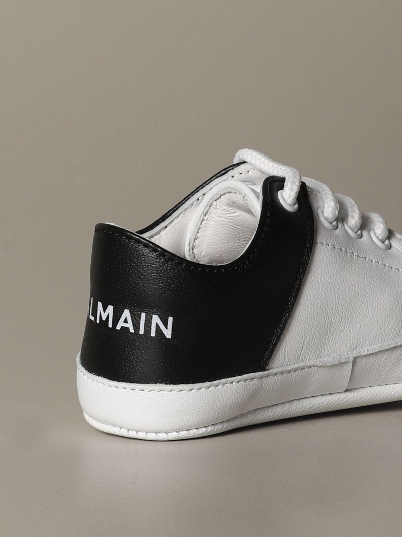 Zapatos Balmain: Zapatos niños Balmain blanco 4