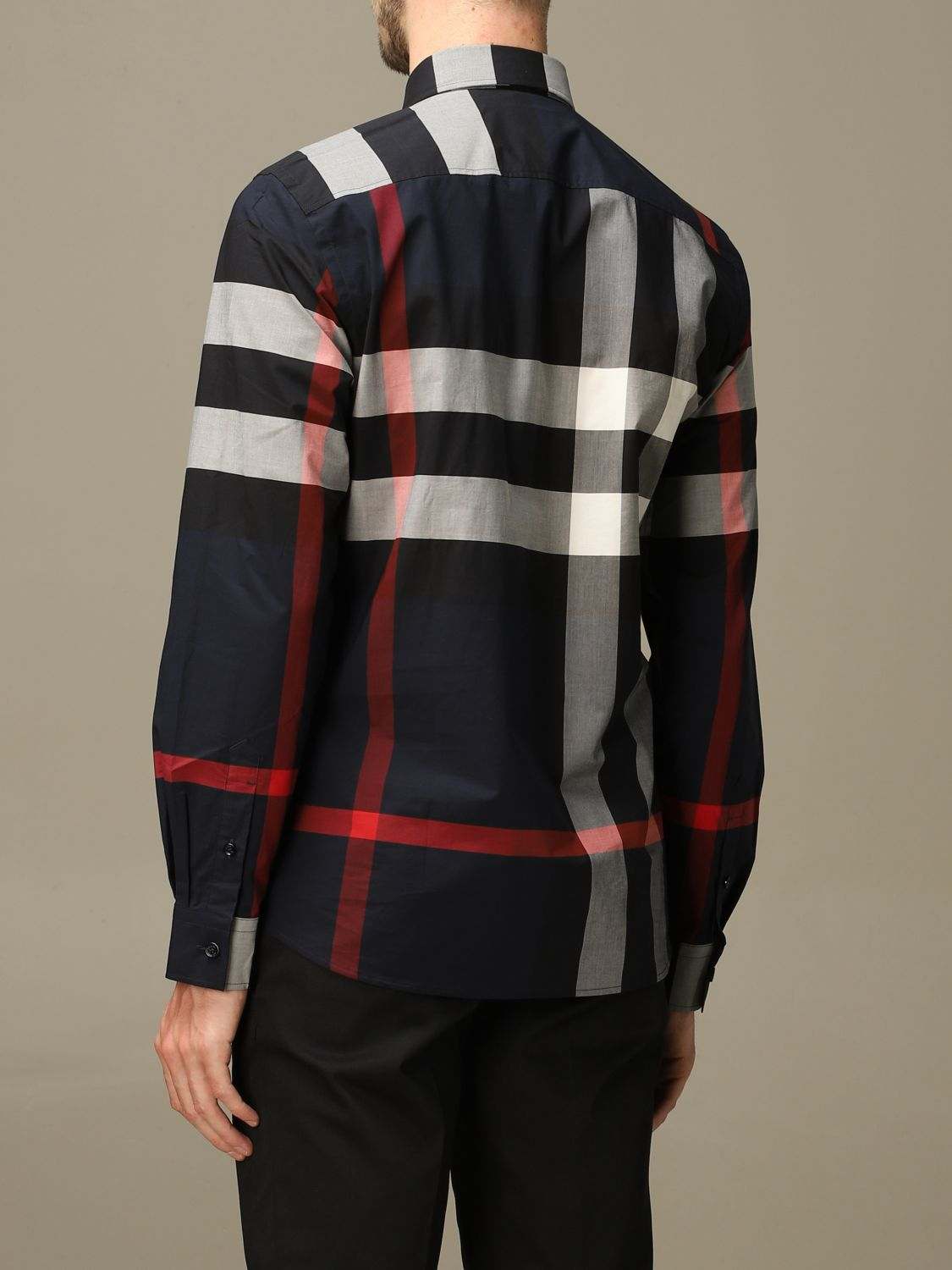 Shirt Burberry: Shirt men Burberry blue 2