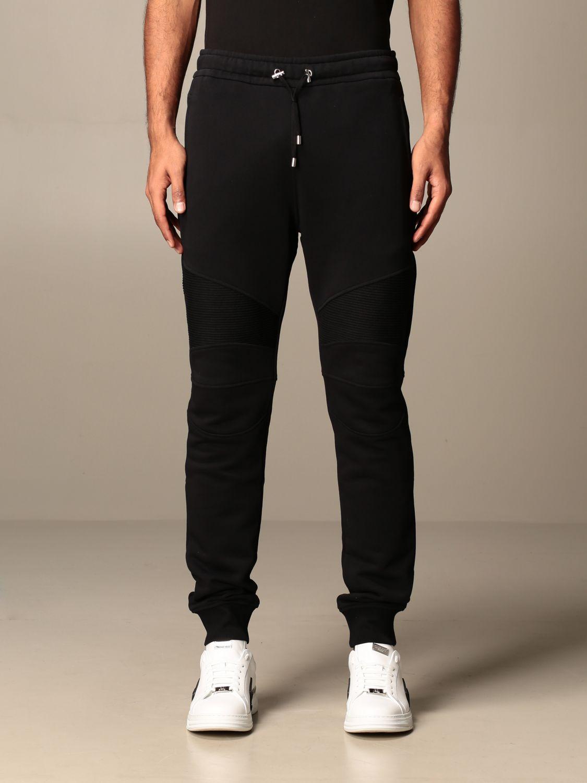 裤子 Balmain: 裤子 男士 Balmain 黑色 1