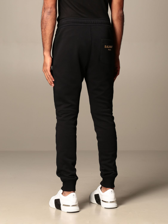 裤子 Balmain: 裤子 男士 Balmain 黑色 2