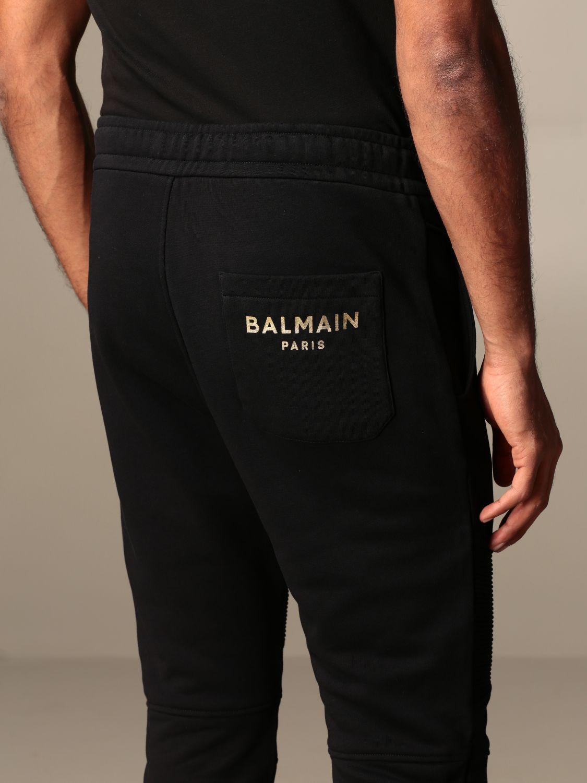 裤子 Balmain: 裤子 男士 Balmain 黑色 3