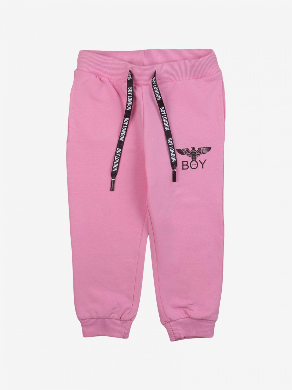 Pantalone Boy London: Pantalone bambino Boy London rosa 1