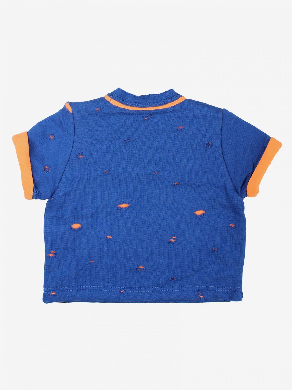 T-shirt Daniele Alessandrini: T-shirt bambino Daniele Alessandrini blue 2
