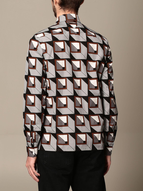 Camisa Prada: Camisa hombre Prada acero 3