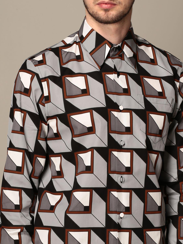 Camisa Prada: Camisa hombre Prada acero 5