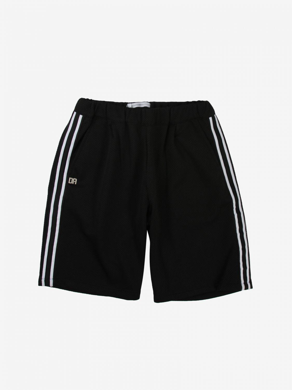 Shorts Daniele Alessandrini: Shorts kids Daniele Alessandrini black 1