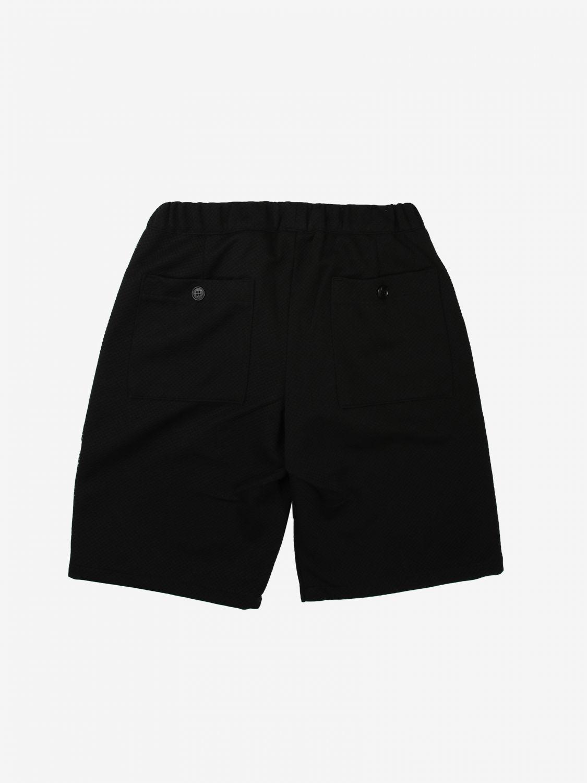 Shorts Daniele Alessandrini: Shorts kids Daniele Alessandrini black 2