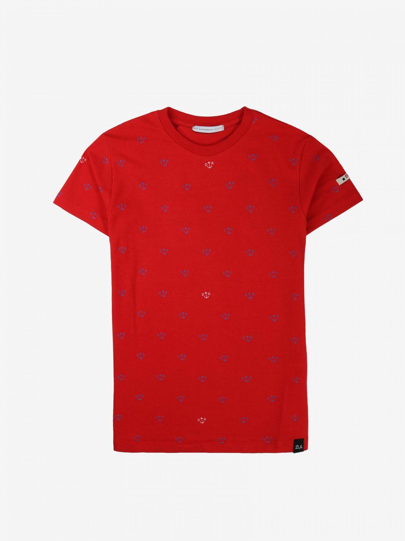 T-shirt Daniele Alessandrini: T-shirt bambino Daniele Alessandrini rosso 1