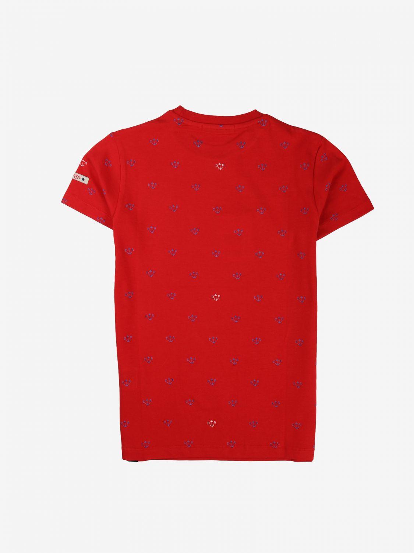 T-shirt Daniele Alessandrini: T-shirt bambino Daniele Alessandrini rosso 2