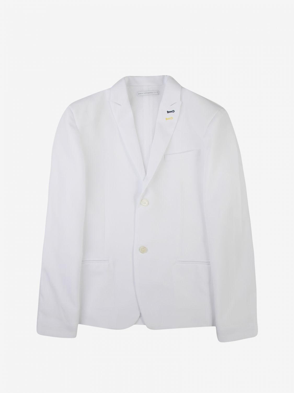 Jacket Daniele Alessandrini: Jacket kids Daniele Alessandrini white 1