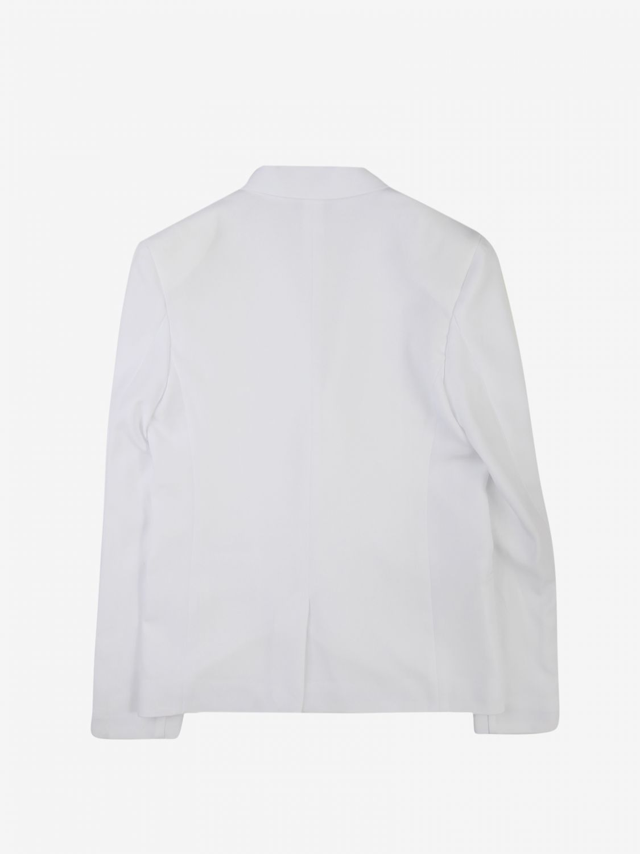 Jacket Daniele Alessandrini: Jacket kids Daniele Alessandrini white 2
