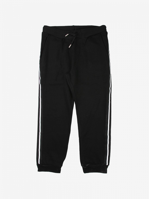Trousers Daniele Alessandrini: Trousers kids Daniele Alessandrini black 1