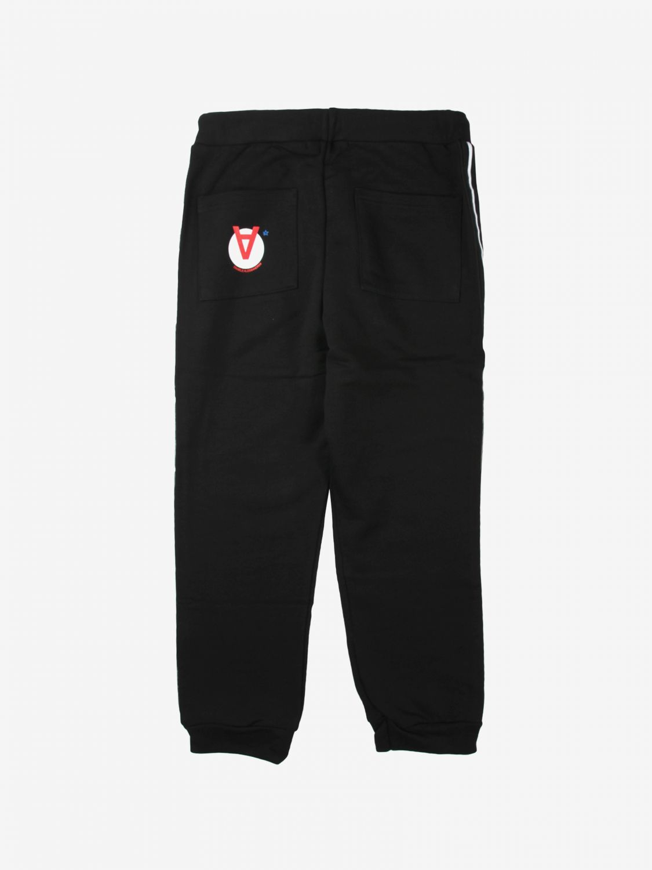 Trousers Daniele Alessandrini: Trousers kids Daniele Alessandrini black 2