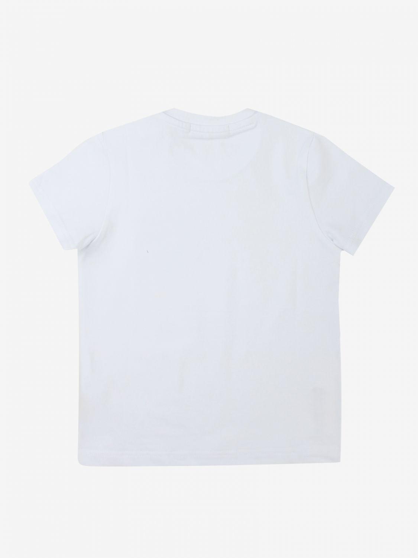 T-shirt Daniele Alessandrini: T-shirt Daniele Alessandrini con taschino a toppa bianco 2