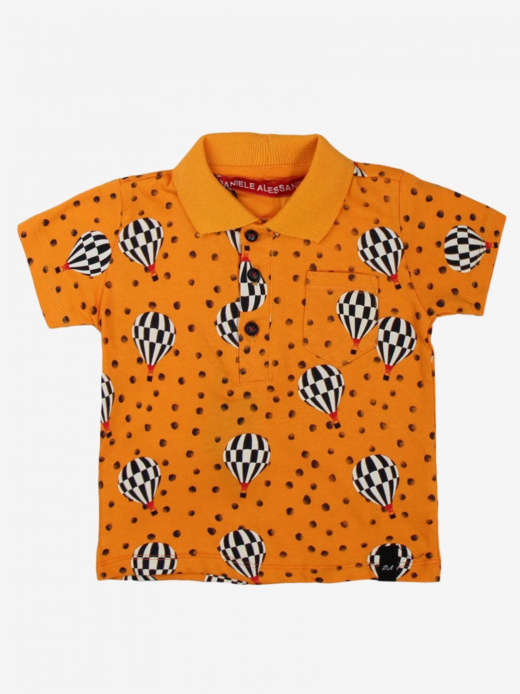 T-shirt Daniele Alessandrini: T-shirt bambino Daniele Alessandrini arancione 1