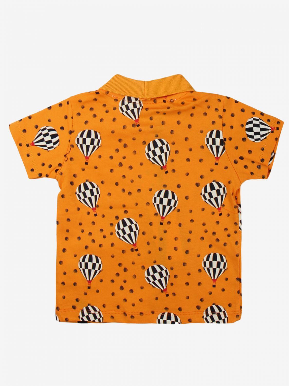 T-shirt Daniele Alessandrini: T-shirt bambino Daniele Alessandrini arancione 2