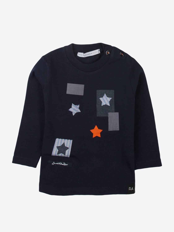 T-shirt Daniele Alessandrini: T-shirt bambino Daniele Alessandrini blue 1