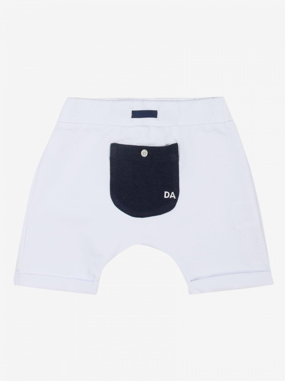 Trousers Daniele Alessandrini: Trousers kids Daniele Alessandrini white 1