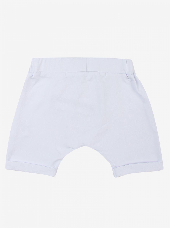 Trousers Daniele Alessandrini: Trousers kids Daniele Alessandrini white 2