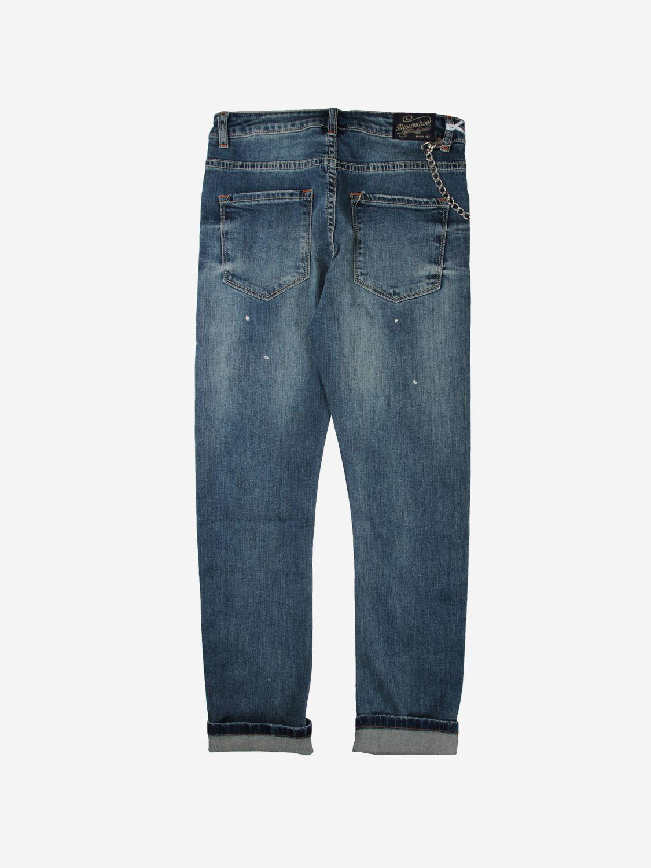 Pantalone Daniele Alessandrini: Pantalone bambino Daniele Alessandrini blue 2