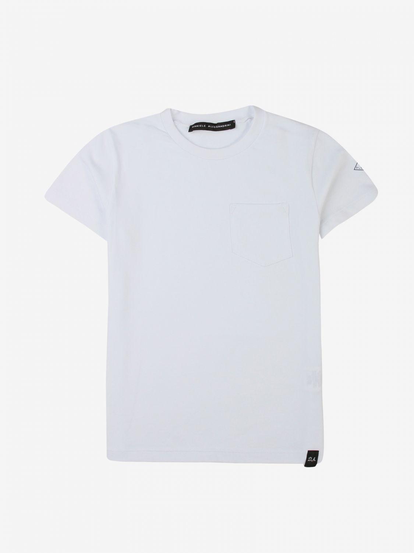 T-shirt Daniele Alessandrini: T-shirt kids Daniele Alessandrini white 1