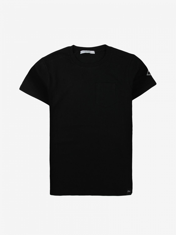 T-shirt Daniele Alessandrini: T-shirt Daniele Alessandrini basic a maniche corte nero 1