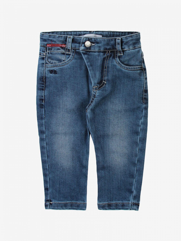 Pantalone Daniele Alessandrini: Pantalone bambino Daniele Alessandrini blue 1