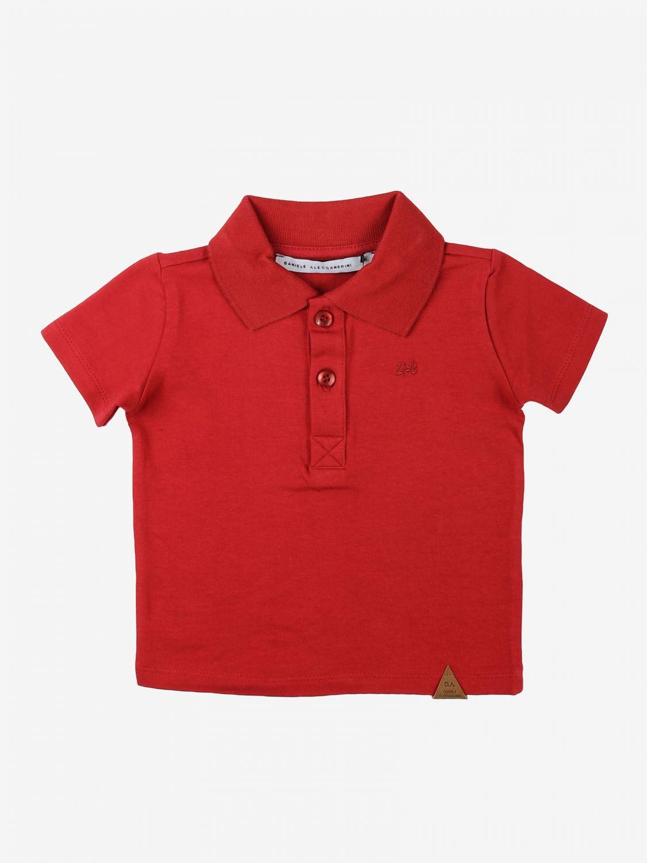T-shirt Daniele Alessandrini: T-shirt kids Daniele Alessandrini red 1