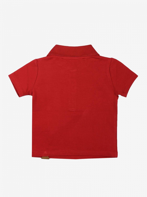 T-shirt Daniele Alessandrini: T-shirt kids Daniele Alessandrini red 2