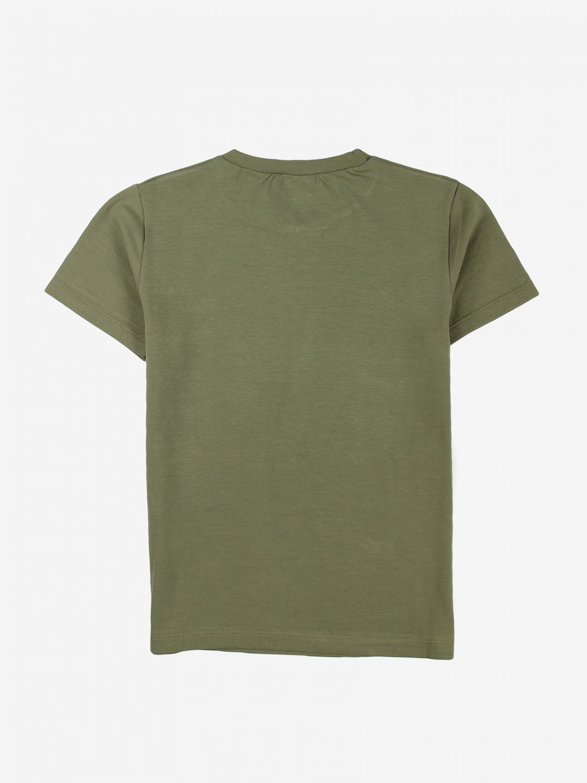 T-shirt Daniele Alessandrini: T-shirt Daniele Alessandrini con stampa verde 2