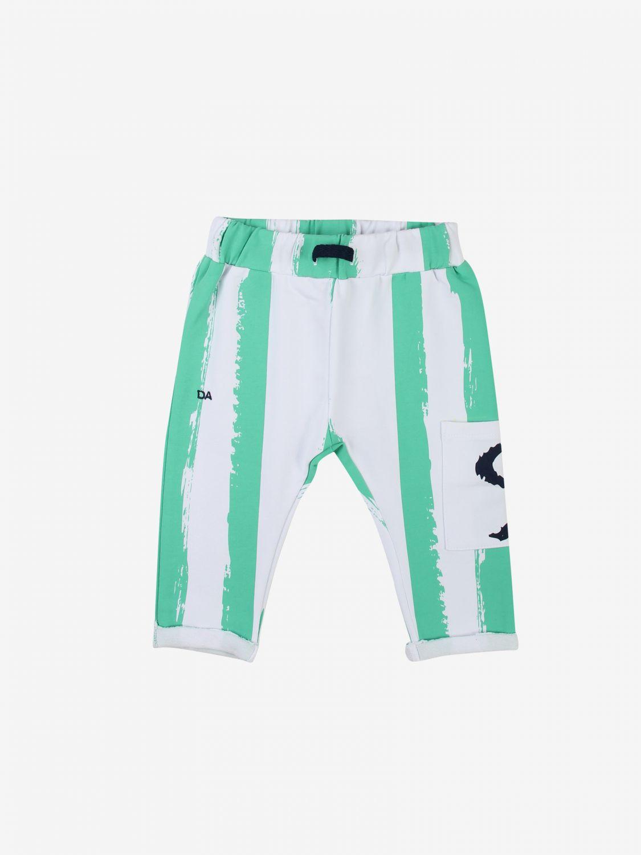 Pantalone Daniele Alessandrini: Pantalone bambino Daniele Alessandrini verde 1
