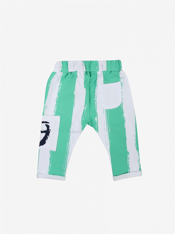 Pantalone Daniele Alessandrini: Pantalone bambino Daniele Alessandrini verde 2
