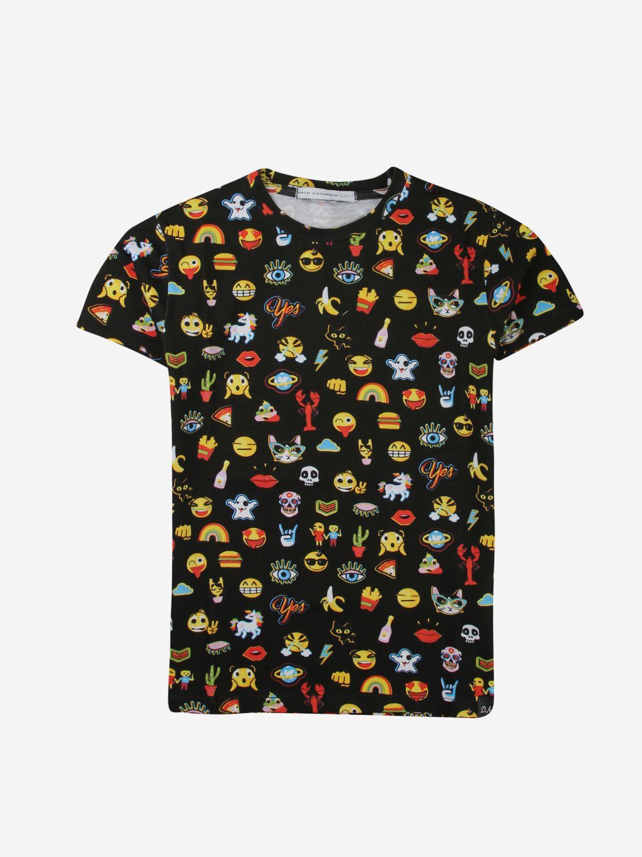T-shirt Daniele Alessandrini: T-shirt Daniele Alessandrini stampata nero 1