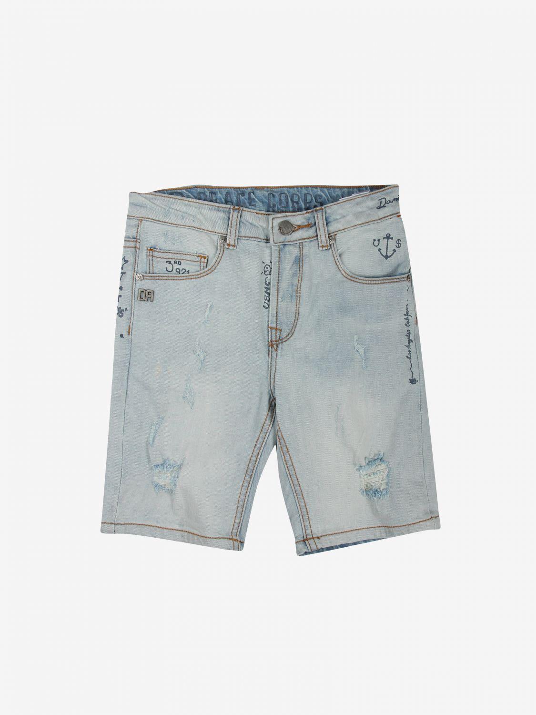 Pantaloncino Daniele Alessandrini: Pantaloncino bambino Daniele Alessandrini blue 1