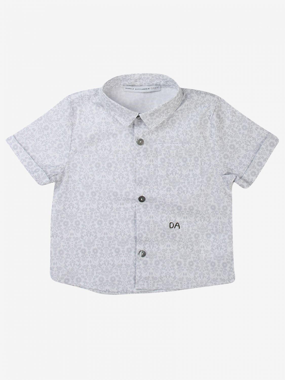 Camicia Daniele Alessandrini: Camicia bambino Daniele Alessandrini grigio 1