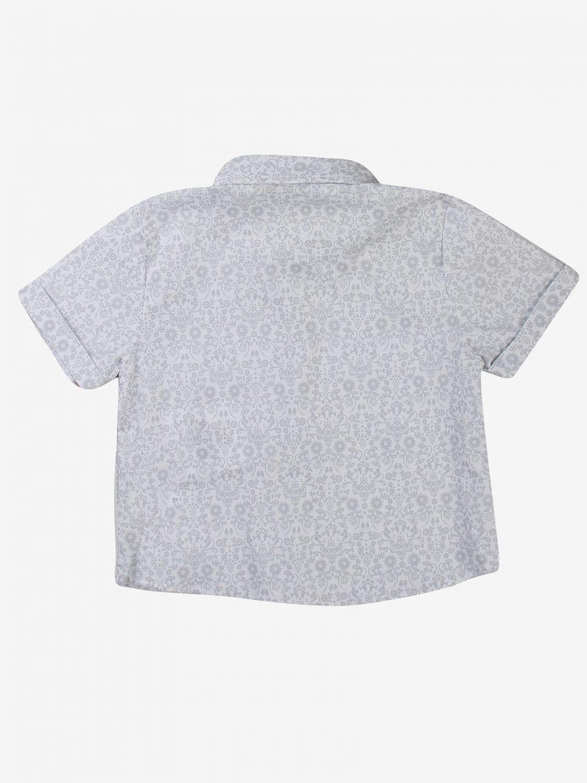 Camicia Daniele Alessandrini: Camicia bambino Daniele Alessandrini grigio 2