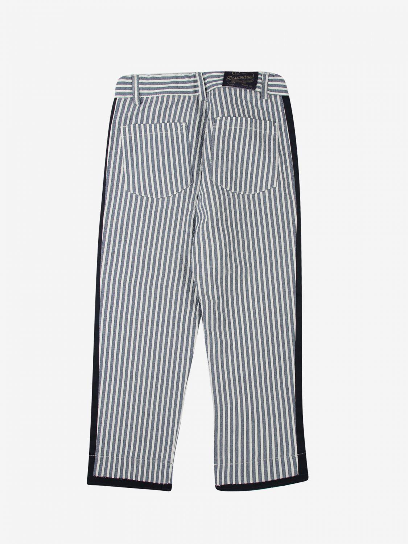 Trousers Daniele Alessandrini: Trousers kids Daniele Alessandrini blue 2