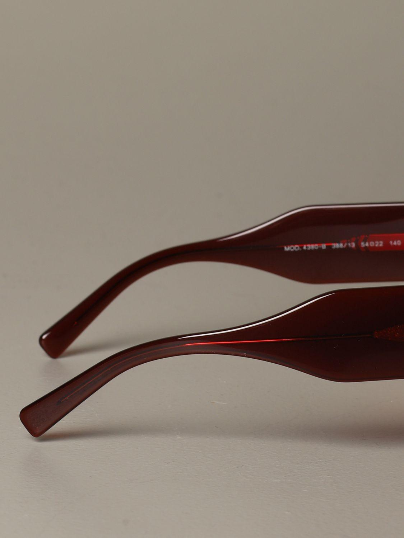 Brille Versace: Brille damen Versace rot 3