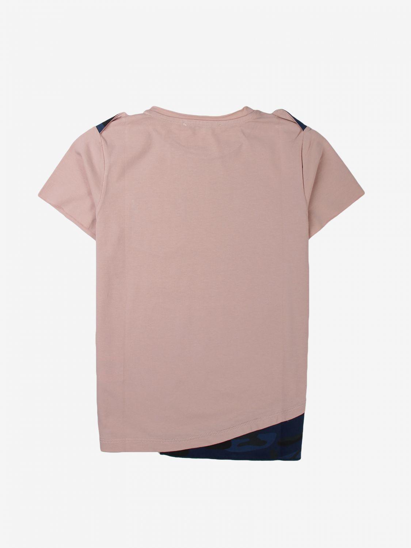 T-shirt Daniele Alessandrini: T-shirt kids Daniele Alessandrini pink 2