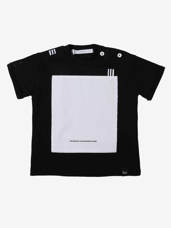 T-shirt Daniele Alessandrini: T-shirt kids Daniele Alessandrini black 1