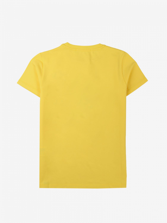 T-shirt Daniele Alessandrini: T-shirt bambino Daniele Alessandrini giallo 2