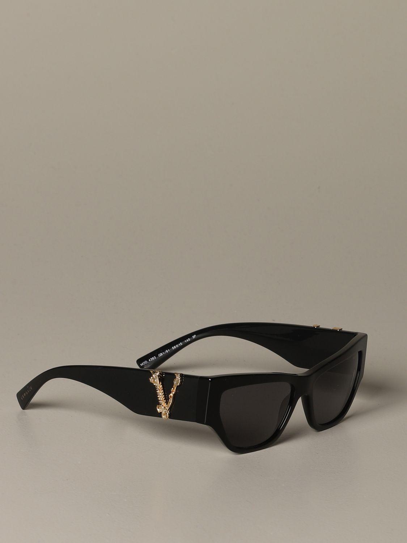 Brille Versace: Brille damen Versace schwarz 1