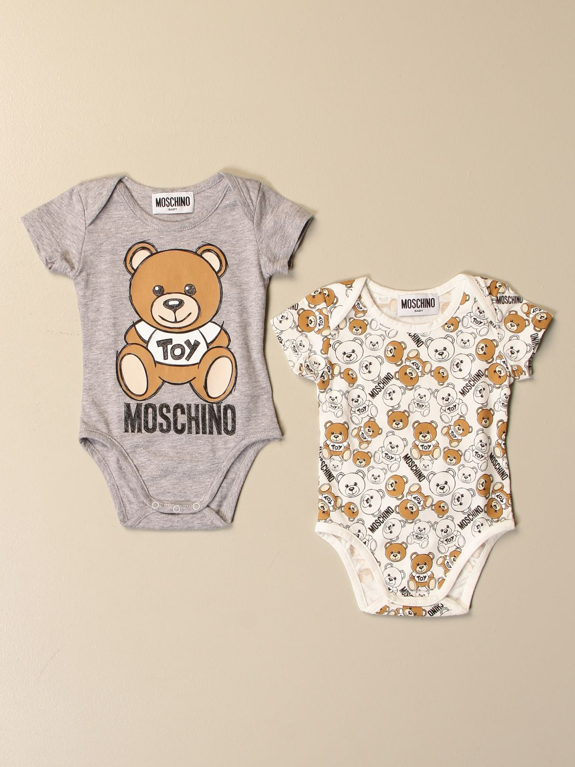 Body Moschino Baby: Body kinder Moschino Baby grau 1