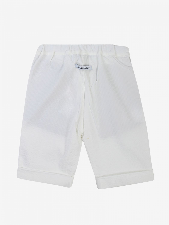 Pantalone Daniele Alessandrini: Pantalone bambino Daniele Alessandrini bianco 2