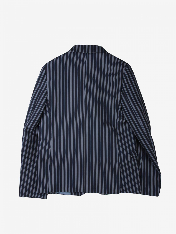 Jacket Daniele Alessandrini: Jacket kids Daniele Alessandrini blue 2