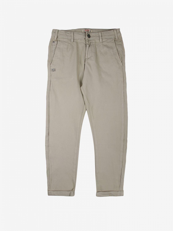 Pantalone Daniele Alessandrini: Pantalone bambino Daniele Alessandrini beige 1